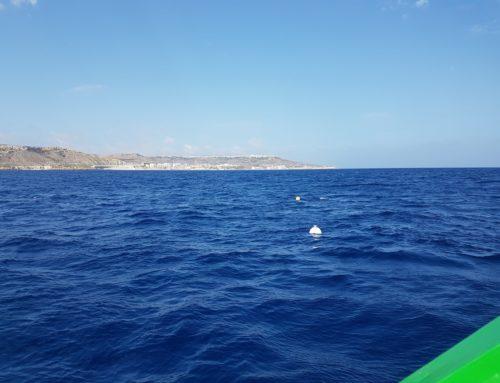 Installazione boa ondametrica a Malta